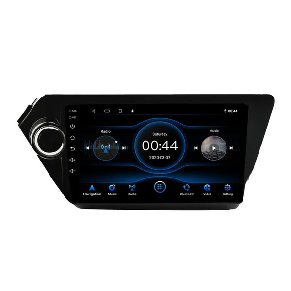best selling 9 inch Android 10.1 Car Radio Stereo GPS Navigation Bluetooth USB Player 2G DDR3 + 16G for Kia K2 Rio 2012-2021