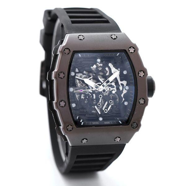 top popular 2017 Fashion Skeleton Watches men or women Skull sport quartz watch 2 2021