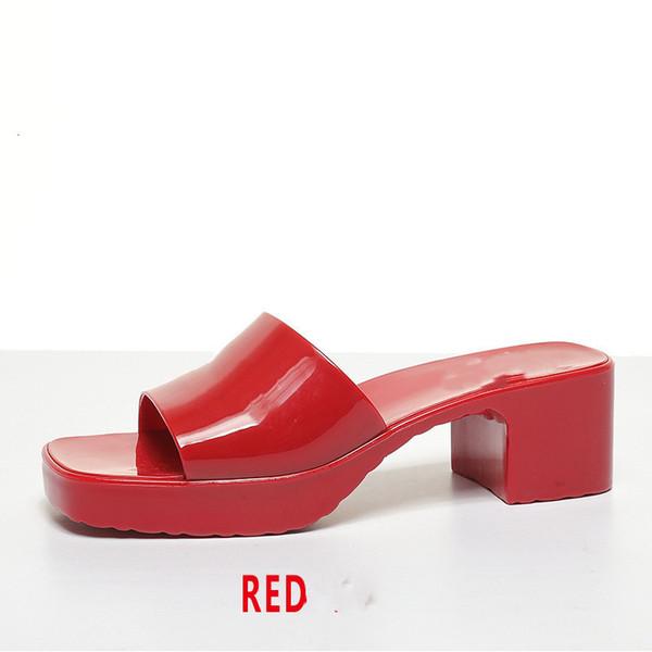 Rosso con logo.