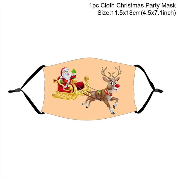 máscara de Natal 13