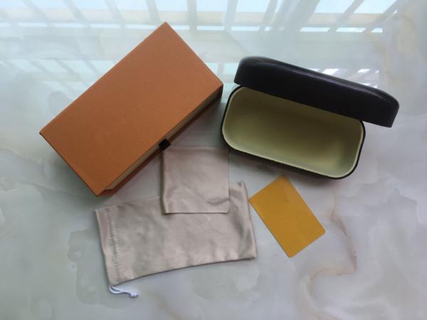 best selling 10pcs,wholesale original box cases card Clean for sunglasses design classic design sun glasses case ,box and Clean cloth