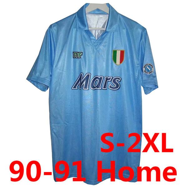 Retro 90-91 Napoli Home