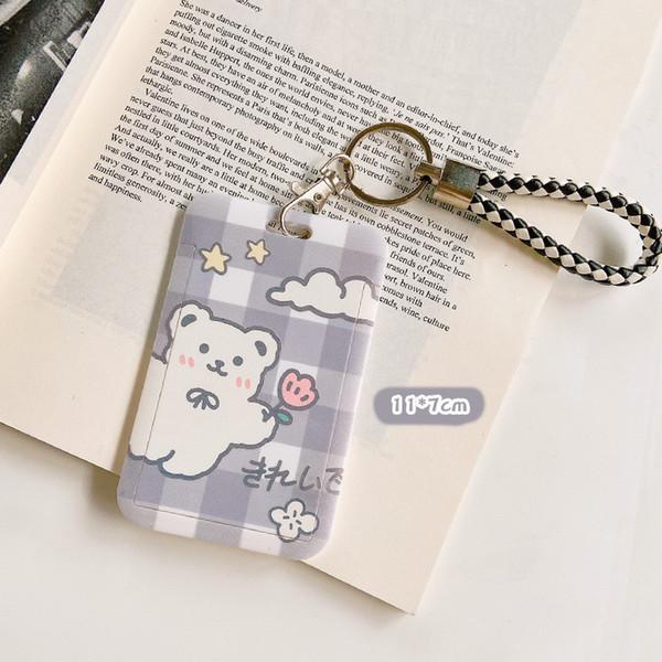 Bear de fleur gris # 20553