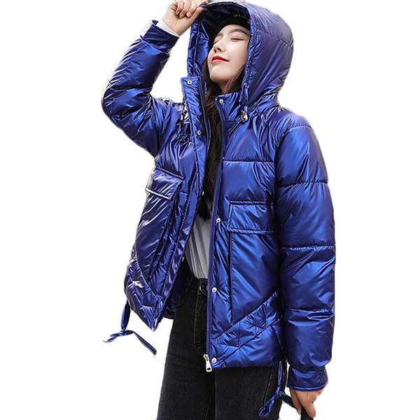 new women's thin light short jacket winter warm jackets student womens 90% white duck down outerwear hooded parka overcome, Black