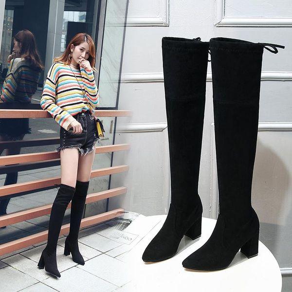 High-heel black