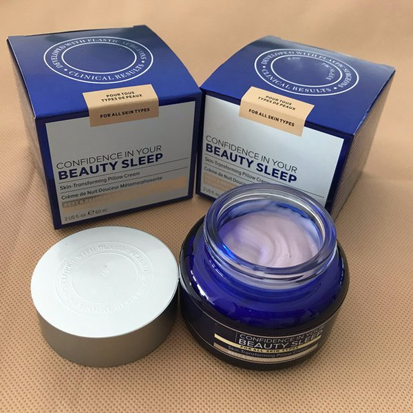 top popular 2020 Dropshipping 2020 New coming Cosmetics Skin-transforming Pillow Cream Confidence in your beauty sleep for all skin types 2021