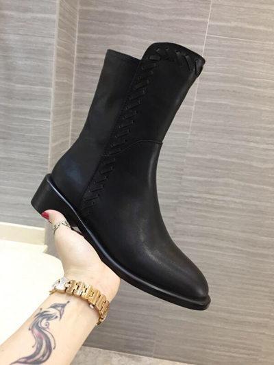 Bottines + doublure de chaussures en cuir complet