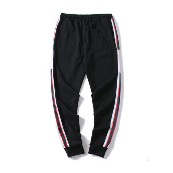 best selling Mens Jogger Pants GC New Branded Drawstring Sports Pants High Fashion 4 Colors Side Stripe Designer p1DSUJ