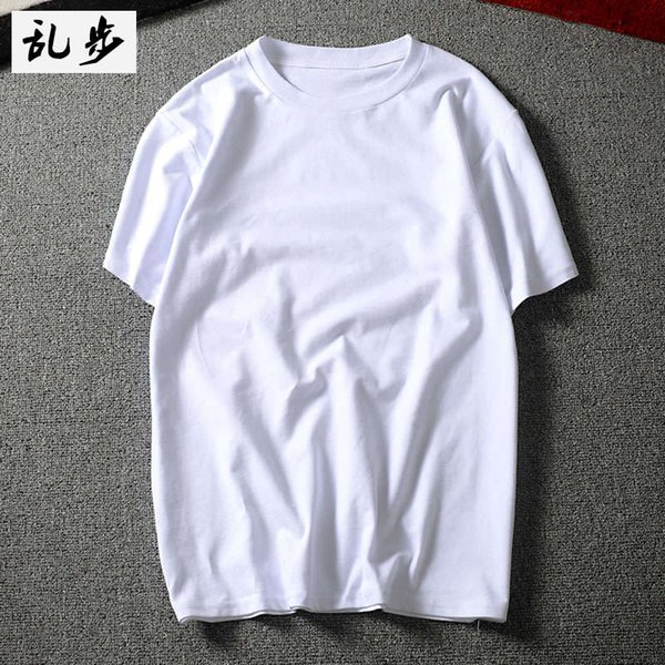 8201 Short Sleeve White-200g Cotton