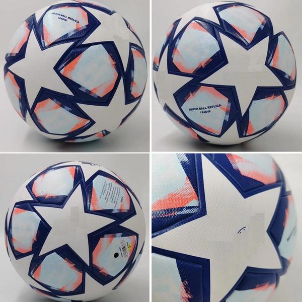 best selling 20 21 European champion Soccer ball 2020 2021 Final KYIV PU size 5 balls granules slip-resistant football Free shipping