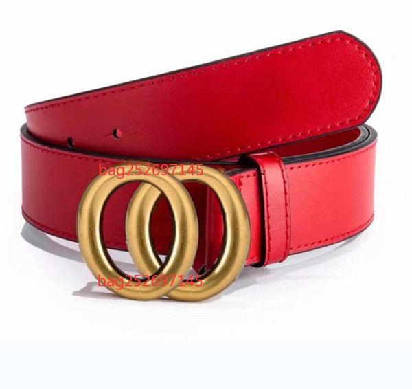 best selling 2020 Luxury fashion brand belts for mens belt designer belt top quality pure copper buckle bets leather male chastity belt 125cm