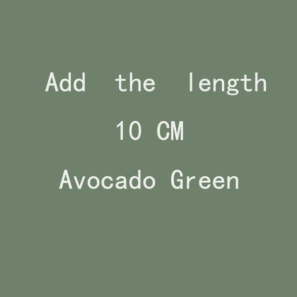 Adicione o comprimento 10cm