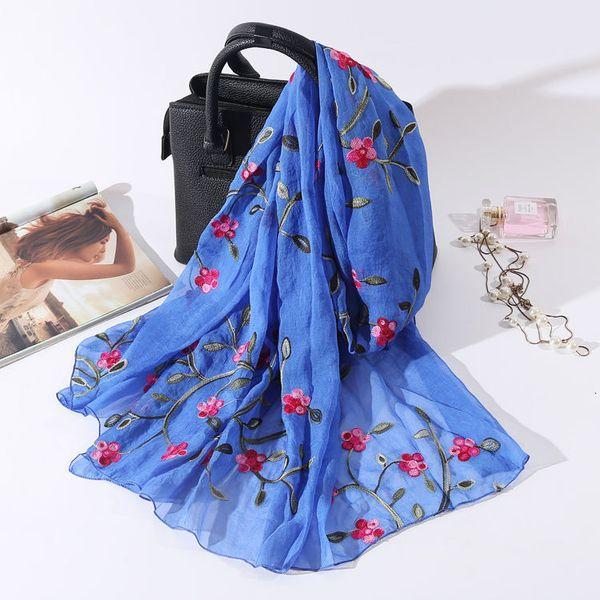 Pêche Blossom Royal Blue-180x75cm