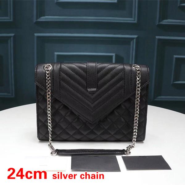 Rhombus Black Silver-24cm