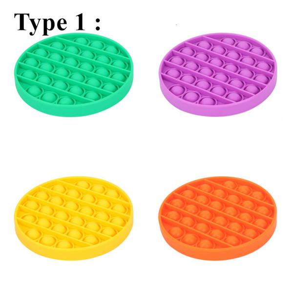 Tipo 1, misture cores ou lista