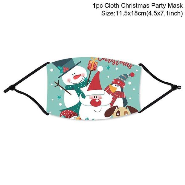 máscara de Natal 10