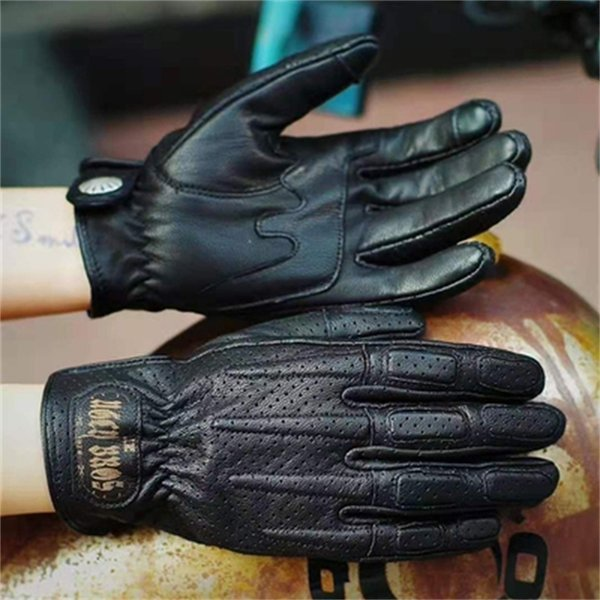 Guantes negros 551 (sin peluche) -s