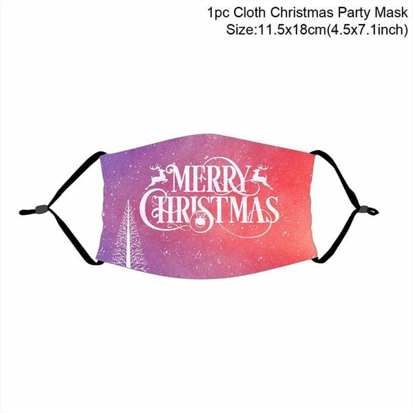 máscara de Natal 15