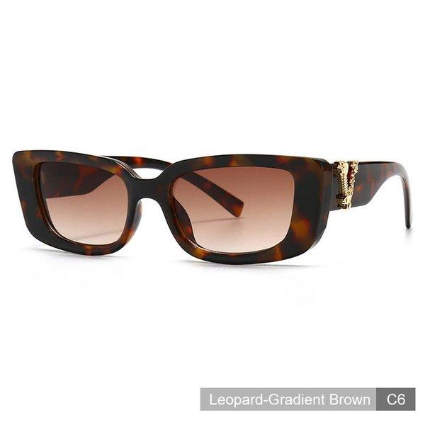 C6 léopard-brun