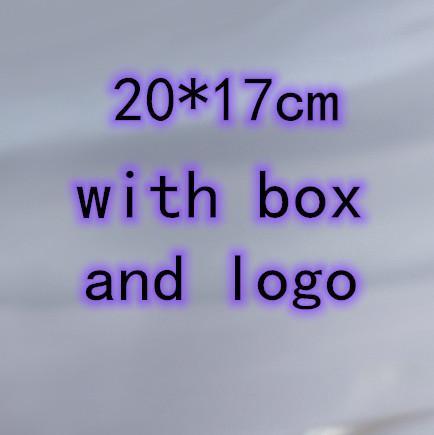 20 * 17см с коробкой и логотипом