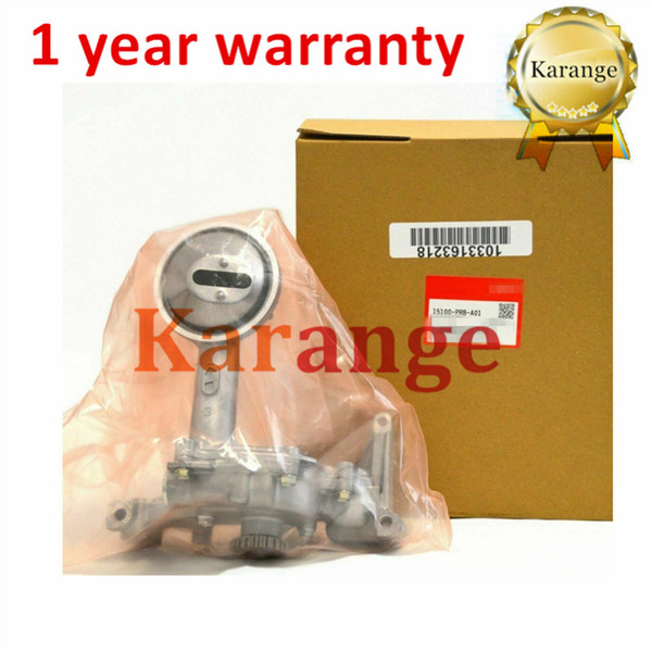 top popular High Quality Oil Pump 15100-PRB-A01 For Honda Acura RSX Type S K20A K20A2 K20Z1 2.0L Engines 15100PRBA01 Remanufactured 2021