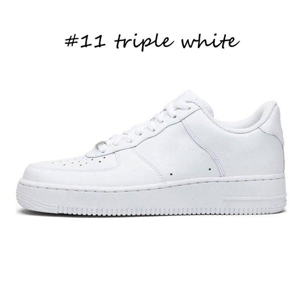 #11 Triple White