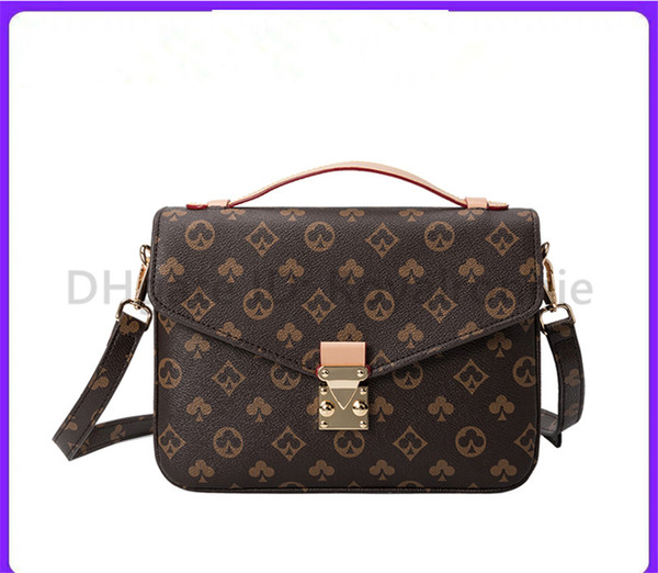 top popular High Quality 2021 Best luxurys designers bags Messenger Bag Women Totes Fashion Bags Vintage printing Shoulder Bags classic crossbody bag 2021