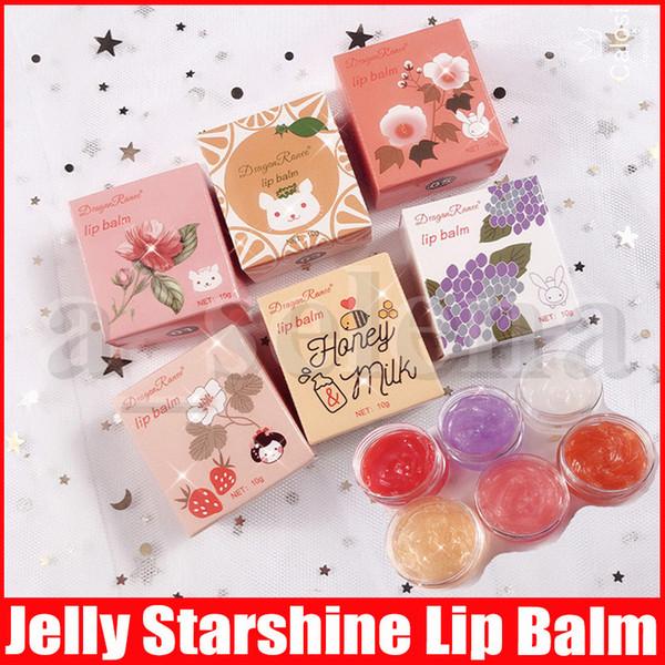 best selling Dragon Ranee Moisturizing Lip Balm Lip Makeup Moisturizing Full Lips Starry Starshine Lipstick lipgloss Nourishing Lips Care 10g