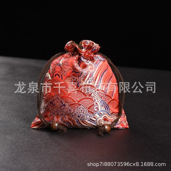 Xiangyun vermelho 13x15-backs bolso