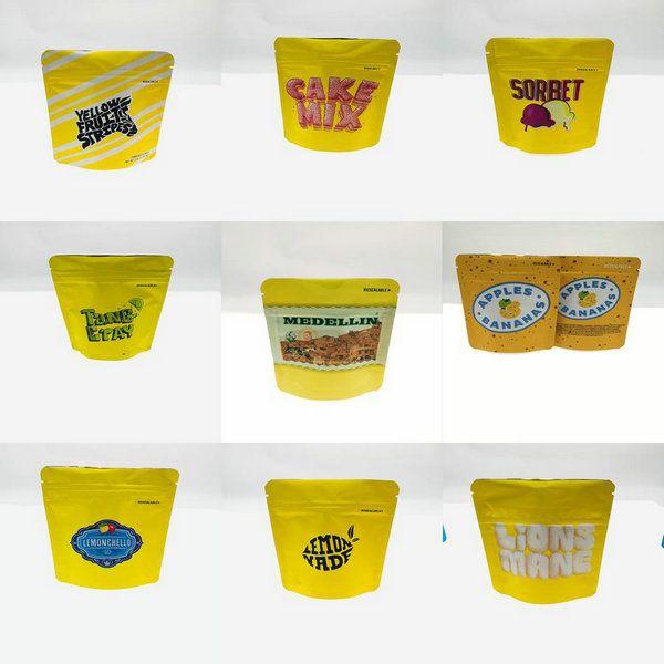 Mezclar las galletas amarillas al azar