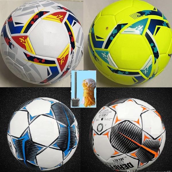 top popular 20 21 la liga Bundesliga soccer balls 2020 2021 Merlin ACC football Particle skid resistance game training Soccer Ball size 5 2021