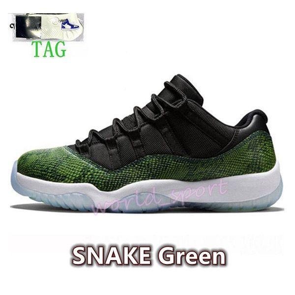34. Змея зеленый