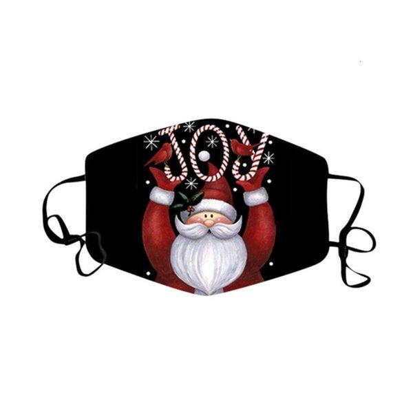 Weihnachtsmaske 02.