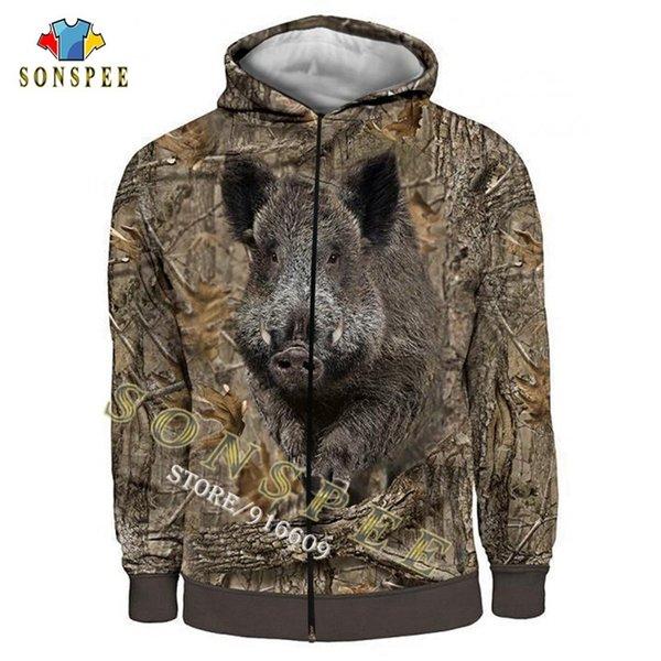 Fermuar hoodie