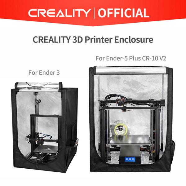 3D 프린터 부품 액세서리 경련 시계 3D 프린터 인클로저 2 크기의 -3 Ender-3 Pro Ender-5 Plus CR-10 V2 안전, 빠르고