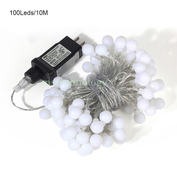 10M 100 LEDs (bola redonda)