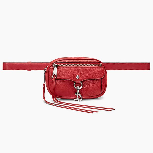 Sac rouge taille