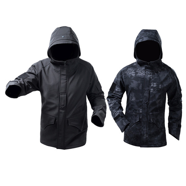 best selling Outdoor Sports Jungle Hunting Woodland BDU Shooting Coat Tactical Combat Clothing Camouflage Outdoor Hoody Softshell G8 Jacket NO05-218