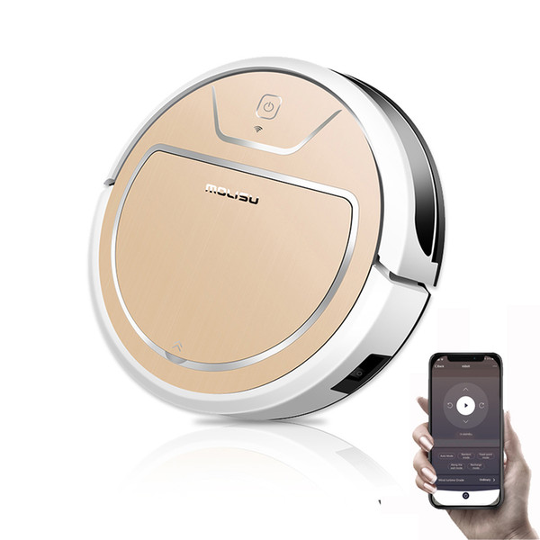 best selling MOLISU V8S PRO robot vacuum cleaner with App control Wet and Dry Sweeping and Mopping 2000pa suction Autocharge Robot Aspirador Y200320