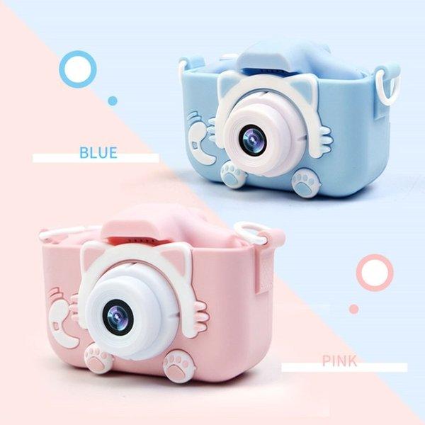 Punkt-Shoot-Kameras x5s 2.0 '' 20mp Mini Kinderkamera IPS-Bildschirm HD 1080p Kinder digitale Fotokamera Spielzeug mit 600mAh Lithium