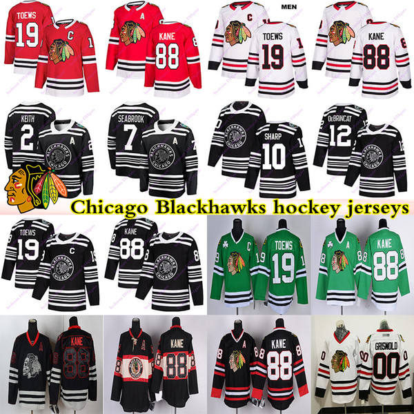 best selling Chicago Blackhawks jerseys 00 Griswold 19 Jonathan Toews 88 Patrick Kane 2 Duncan Keith Clark Griswold Brandon Saad hockey jersey