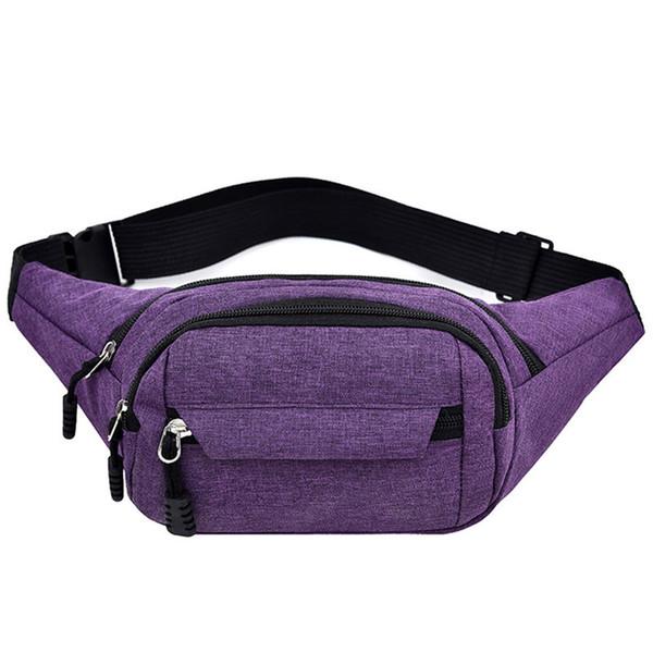 monedero púrpura