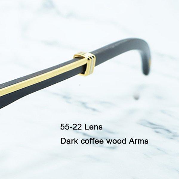 55-legno di caffè scuro