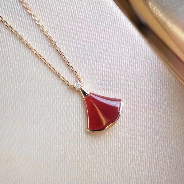 Ожерелье из красного вентилятора Fritillaria # 24756