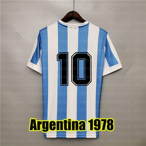 Argentina Retro 1978 Home 10 #