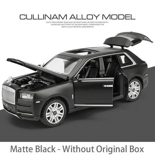 Matte Black Box Non
