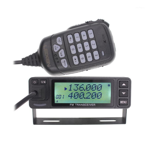 top popular 2020 LEIXEN VV-998S VV-998 Mini 25W Dual band VHF UHF 144 430MHz Mobile Transceive Amateur Ham Radio Car Radio1 2021