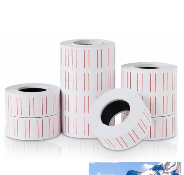 best selling New 10 Rolls  set Price Label Paper Tag Tagging Pricing For Gun Wh bbyqRn lg2010