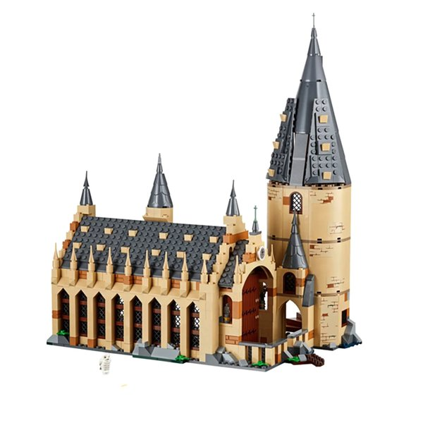 best selling 16052 39144 In stock 926pcs Porter Movie Series Bell tower Auditorium Castle Building Blocks Toys Christmas gift Comptible 75954