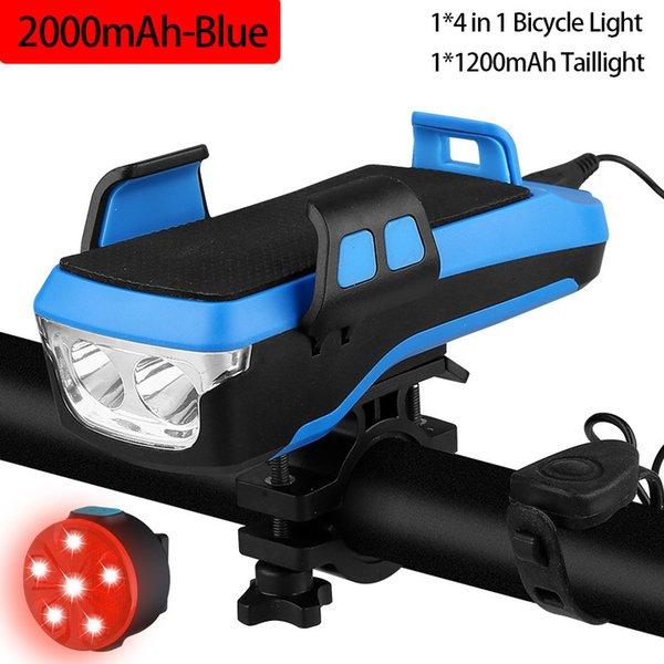 2000mah Blue Set